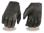 Mens Lightweight Deerskin Motorcycle Gloves