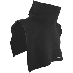 Black Fleece Neck & Chest Dickie
