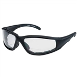 Padded Bifocal Riding Glasses - Clear Reading Lens