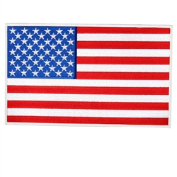 merican Flag 4'' Motorcycle Patch
