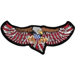 Biker Patches USA Eagle Attack