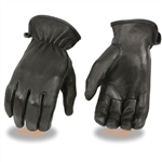 Deerskin Leather Ladies Motorcycle Gloves