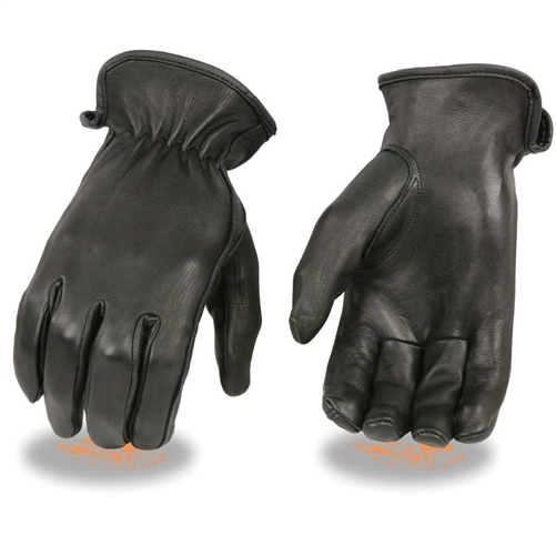 Women S Insulated Deerskin Leather Motorcycle Gloves