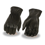 Deerskin Leather Motorcycle Gloves: Insulated Thermal