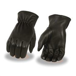 Deerskin Leather Motorcycle Gloves: Insulated
