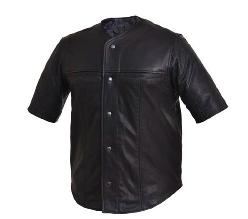 Short Sleeve Leather