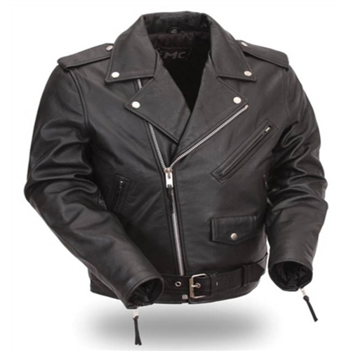 e00fc5081952 Kids Motorcycle Jacket - Classic Leather Biker Style - On Sale Now