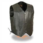 Baby Leather Motorcycle Vests Biker Style Vest