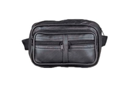 Leather Magnetic Motorcycle Tank Bag Gun Pocket