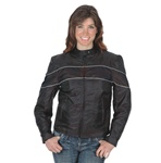 Women's Textile Motorcycle Jacket - Vented