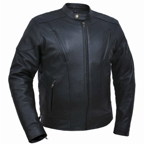 b9d65c1a3 Premium Leather Men's Motorcycle Jacket