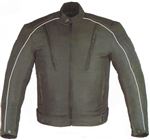 Textile Men's Motorcycle Jackets with Body Armor