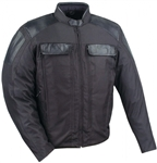 Mens Motorcycle Jackets: Lightweight Textile for Summer