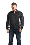 Armored Men's Mesh Motorcycle Jacket