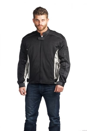 Armored Men S Mesh Motorcycle Jacket Summer Leather Bound Online