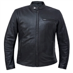 Scooter Men's Motorcycle Jackets - Ultra Premium Leather