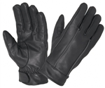 Waterproof Premium Leather Motorcycle Gloves - Reflective Piping