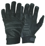 Reflective Lightweight Leather Motorcycle Gloves