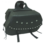 Buffalo Nickel Motorcycle Saddle Bags: Zip-Off Luggage