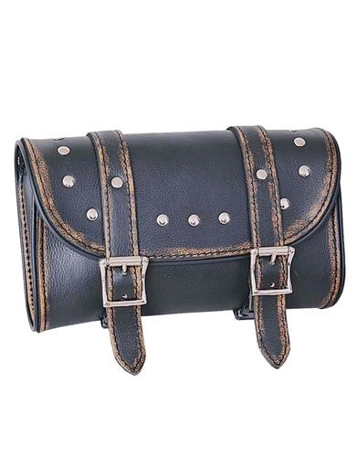 Motorcycle Tool Bag >> Motorcycle Distressed Brown Leather Tool Bag
