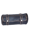 Motorcycle Soft Brown Distressed Leather Tool Bag