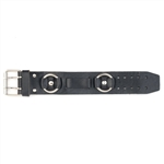 Biker Plain Leather Watch Band