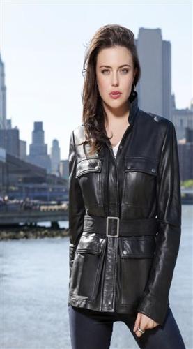 Whet Blu Leather Jackets Women S Lambskin Belted Jacket