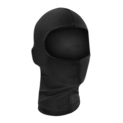 Motorcycle Mask, Black Nylon Balaclava