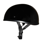 Worlds Smallest DOT Helmets: Gloss Black Beanie