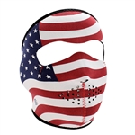 USA Flag Motorcycle Face Mask