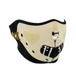 Hannibal Half Motorcycle Face Mask