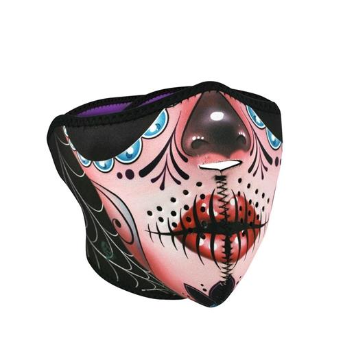 Sugar Skull Motorcycle Face Mask