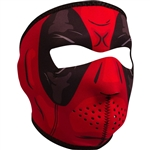 Red Dawn Motorcycle Face Mask