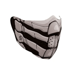 Motorcycle Face Mask: Glow Bone Breath