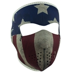 Patriot Motorcycle Face Mask