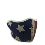 Patriot Flag Motorcycle Face Mask