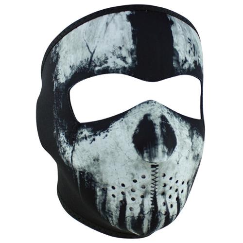 Neoprene Motorcycle Face Masks Ghost Skull