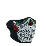 Murte Skull Motorcycle Face Mask