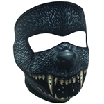 Silver Bullet Monster Motorcycle Face Mask