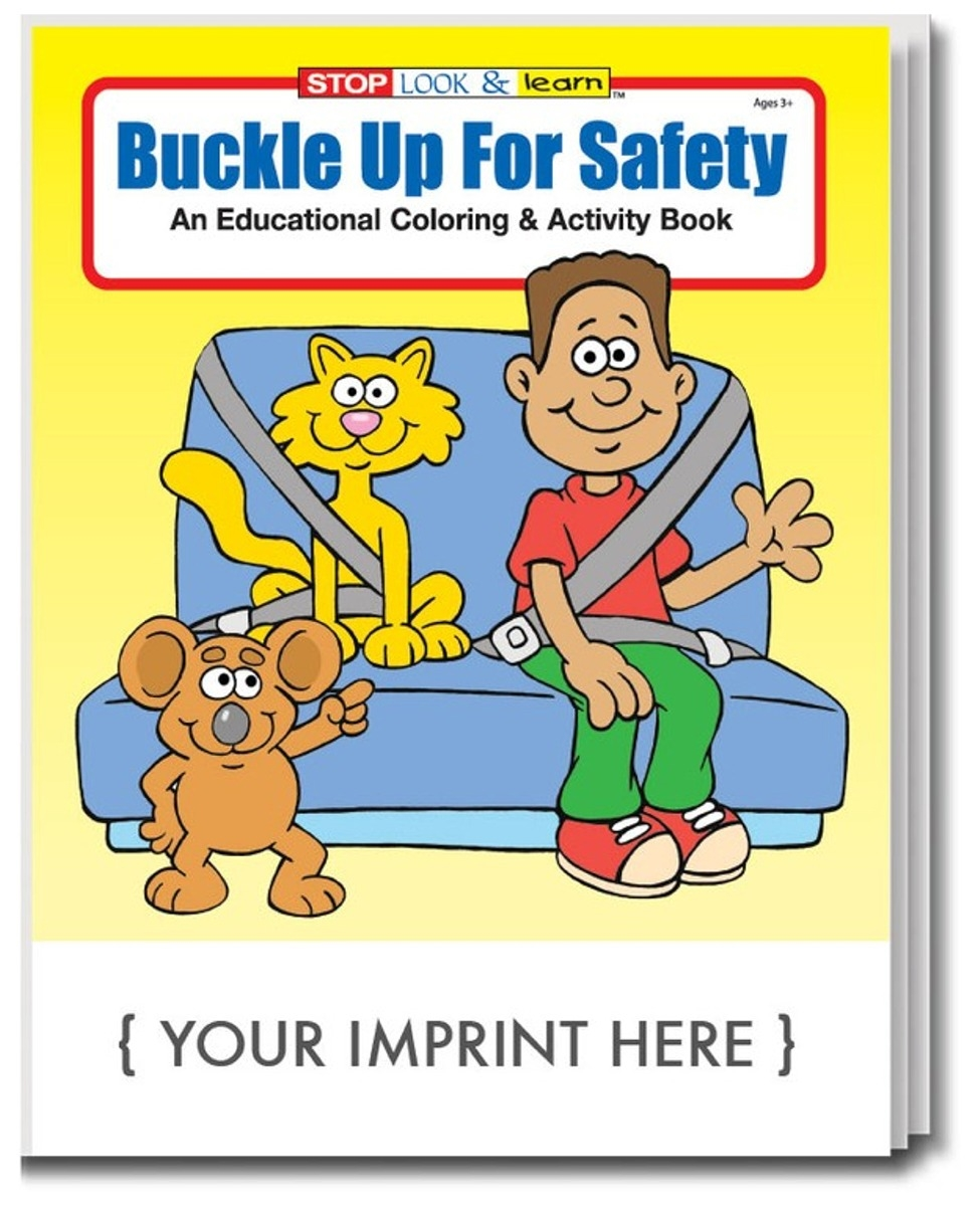 Buckle Up For Safety Coloring Page | Road safety, Safety crafts, Coloring  pages | 1200x975