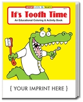 It's Tooth Time, Custom Coloring & Activity Book