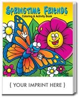 Spring Time Friends Coloring Book