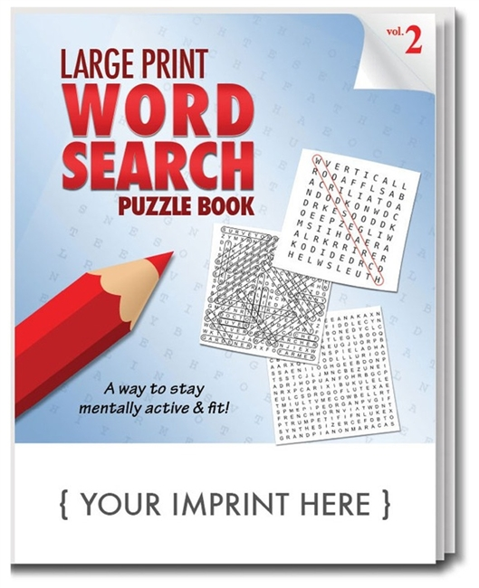 Word Search Puzzle Book Volume 2