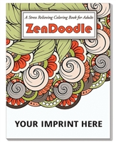 ZenDoodle Stress Relieving Coloring Book