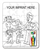 Crime Prevention Coloring and Puzzle Set