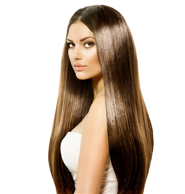 20 Inch Straight Pre-Bonded Pure Keratin Flat Tip Extensions