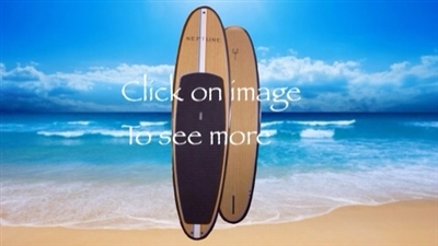 all rounder bamboo veneer sup board, paddle board
