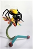 Bee Vapor Rig Water Pipe and Flower Stand Set by Down Neck