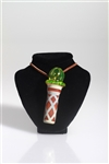 Ice Cream Cone Chillum Pendant by Chad G