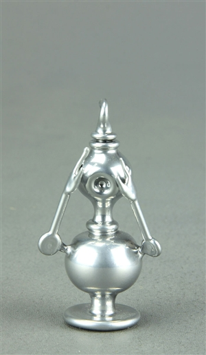 Chrome Colored Huxtable Pendant